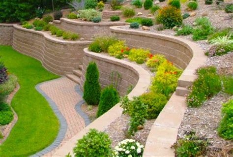retaining wall block ideas  diy landscape design