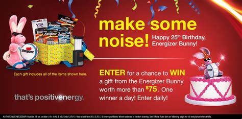 Happy Contest Win A Mimobot by I Just Entered To Win A Gift From The Energizer Bunny
