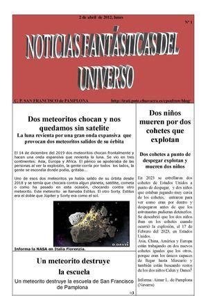 noticias el universo calam 233 o noticias fant 225 sticas del universo