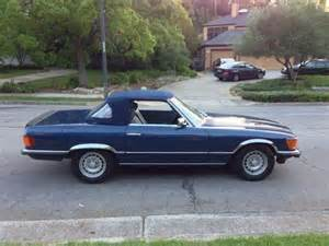 1985 Mercedes 500sl Sell Used 1985 Mercedes 500sl Eurpoean Delivery Calfornia