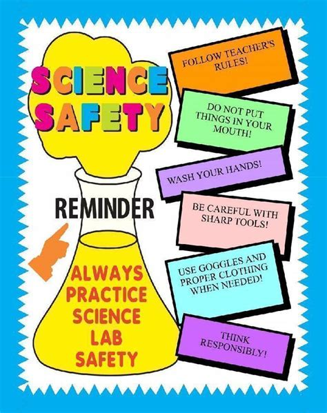 Poster 32 Idea Jpg science safety posters ideas www pixshark images
