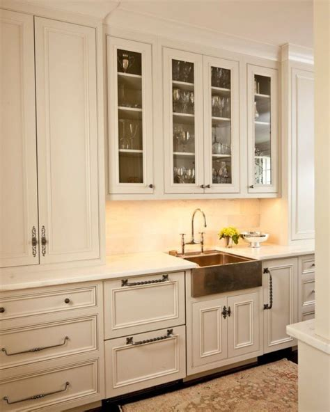 19 Beautiful White Kitchens To Swoon Over Copper Kitchen Cabinets