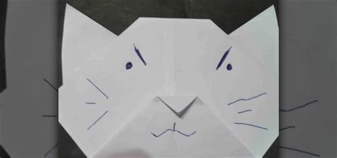 How To Make An Origami Cat - how to make an origami cat for origami beginners