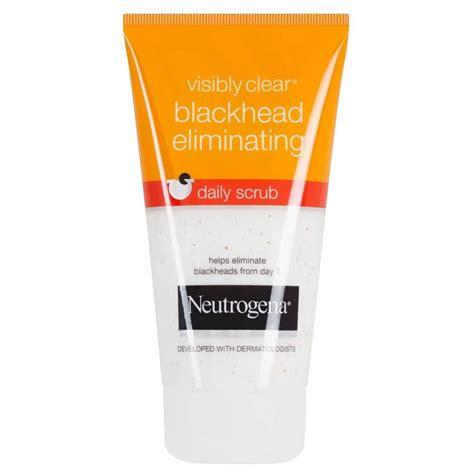 Neutrogena Rapid Clear Blackhead Eliminating Daily Scru Berkualitas neutrogena visibly clear blackhead eliminating daily scrub 150ml ebay