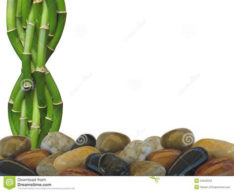 imagenes zen bambu bambu e zen rock background fotos de stock imagem 34842553