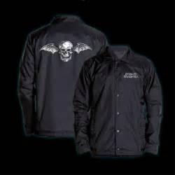 Avenged Sevenfold Deathbat avenged sevenfold deathbat coaches jacket