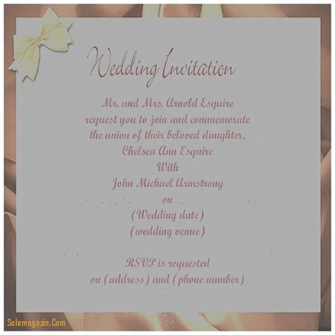 free wedding invitations by mail 30 best of wedding invitation format on mail images wedding invitation ideas