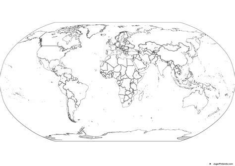 imagenes del mapamundi en blanco y negro mapa mundi para pintar