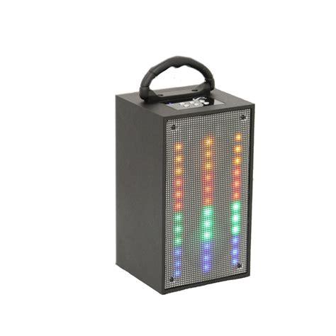 portable speaker with lights wireless portable speaker kmart com