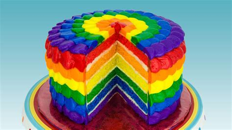 icing room rainbow cake cake decorating classes how to decorate a rainbow cake covered with rainbow frosting step by