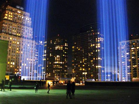 in lights 9 11 trade center tribute in light guess the