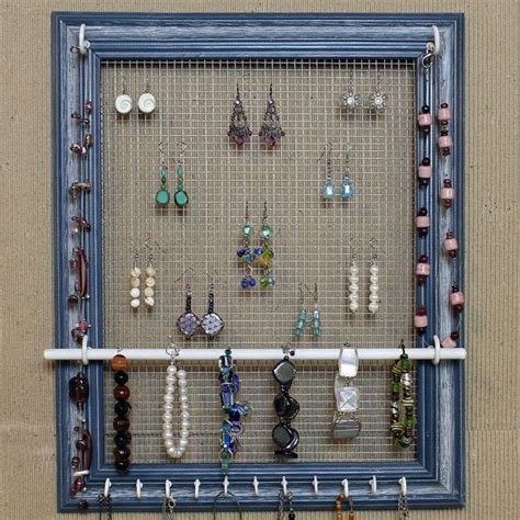 how to make your own jewelry organizer diy jewelry organizer can buy this one or make your own