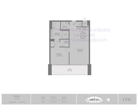 epic floor plan epic miami condos 200 biscayne blvd way miami fl 33131