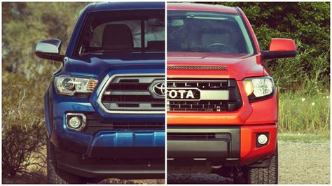 toyota tacoma vs tundra tacoma vs tundra which is better for your needs