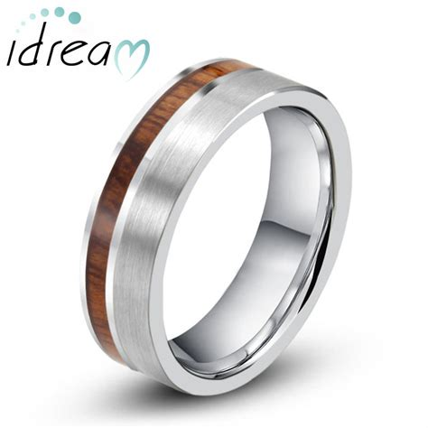 Carbide Wedding Band by Tungsten Wedding Bands Couples Rings Idream Jewelry