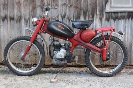 Oldtimer Motorrad 4 Takt by Motom 50 Ccm 4 Takt Oldtimer Moped Cross Enduro Scrambler