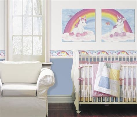 Large Dinosaur Wall Stickers baby unicorn wallpaper borders murals and wall art