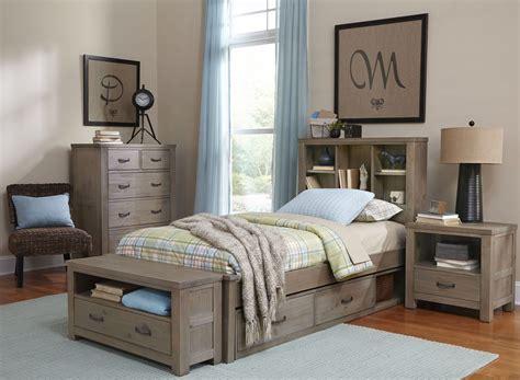 driftwood bedroom furniture highlands driftwood bookcase youth storage bedroom set