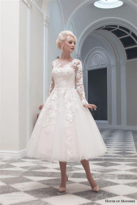 Hochzeitskleid Mittellang by House Of Mooshki Fall 2014 Wedding Dresses Wedding