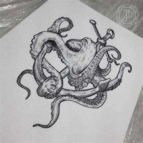 octopus anchor tattoo best 25 octopus anchor tattoos ideas on