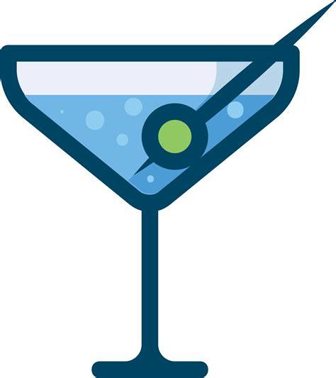 blue martini clip clipart martini