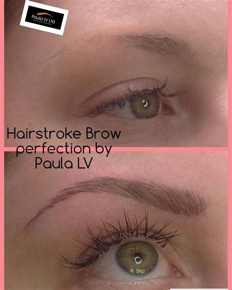 tattoo non permanent quebec hair stroke semi permanent eyebrows a lovely recent