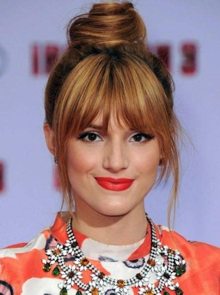 Easy Hairstyles For With Bangs by 312 Best Images About Medium Length Hairstyles On