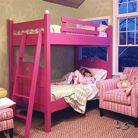 girls hot funky pink bedroom furniture ottoman storage 17 best images about funky bunks on pinterest built in
