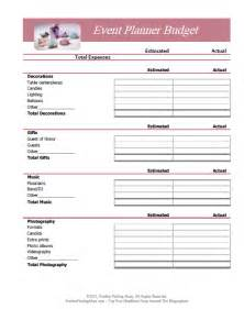 free budget worksheet template best photos of event budget worksheet template event