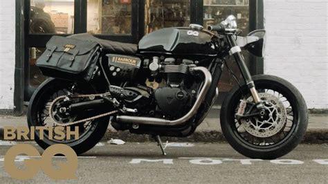 we made a triumph thruxton r custom motorbike gq