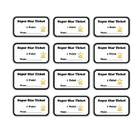 printable pizza tickets 25 word coupon templates free download free premium