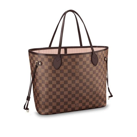 Jual Tas Lv Louis Vuitton Mm Damier Ebene Mirror Quality 1 1 Origina 3 neverfull mm damier ebene canvas handbags louis vuitton
