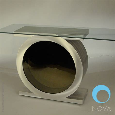 infinity console vortex infinity console table metropolitandecor