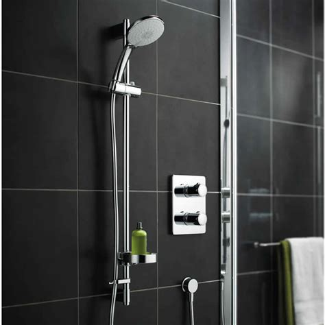 Concealed Electric Shower Trevi Tt Concealed Shower Valve With Rivage Faceplate Uk