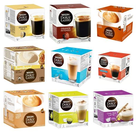 Capsules for Nescafe Dolce Gusto 25 different flavors