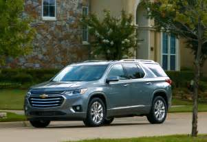 Drive 2018 Chevrolet Traverse Driving 2018 Chevrolet Traverse High Country Test Drive