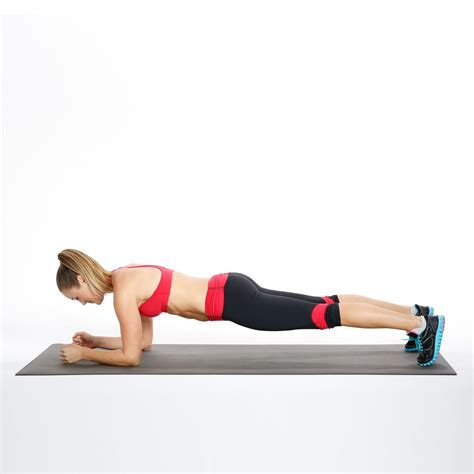 plank with hip dips ab workout popsugar fitness photo 3