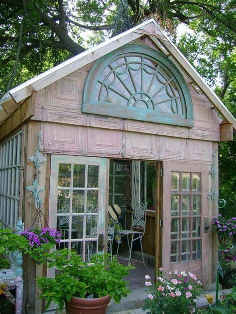 ideas  garden huts  pinterest gardens