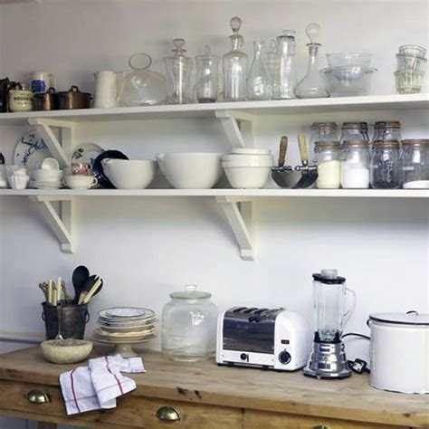 shelves in kitchen ideas cottage kitchens cabinetry hardware continued