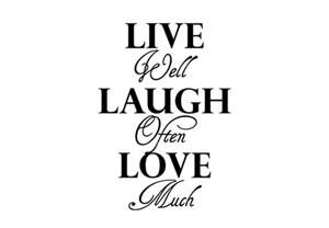 laugh live live laugh love wall quotes quotesgram