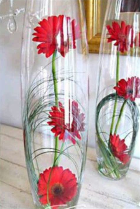 Decoratie In Hoge Glazen Vaas by 25 Beste Idee 235 N Hoge Bloemstukken Op