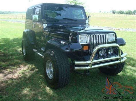 87 Jeep Wrangler For Sale 87 Jeep Wrangler Yj Black Black Loaded Automatic Ac