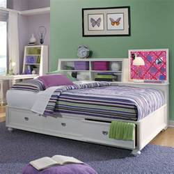 Daybed With Storage Elite Zoe Storage Platform Daybed Girly Bedrooms