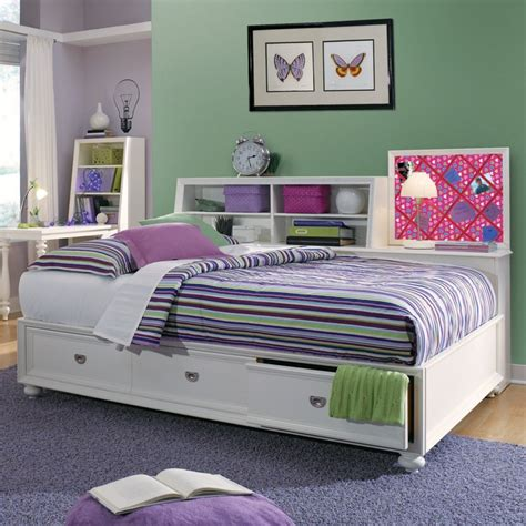 day bed with storage elite zoe storage platform daybed girly bedrooms pinterest