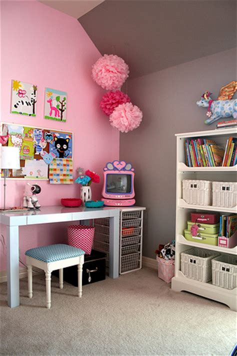 pink and grey girls bedroom pink and gray girl s room transitional girl s room ralph lauren forde abbey