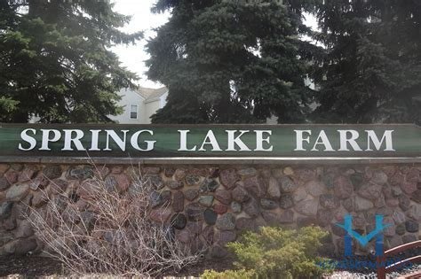 lake farms subdivision in lake in the