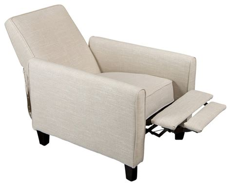 Jamestown Design Recliner Club Chair   Modern   Living Room Chairs   by GDFStudio