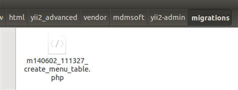 yii2 layout menu install modul admin di yii2 latcoding com
