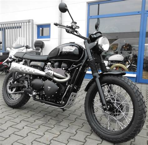 Motorradhandel Bad Kreuznach by Details Zum Custom Bike Triumph Scrambler Des H 228 Ndlers