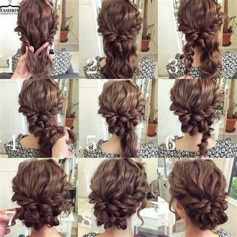 hairstyle ideas for engagement best 25 easy updo ideas on pinterest easy chignon work
